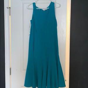 Calvin Klein Turquoise Midi Dress